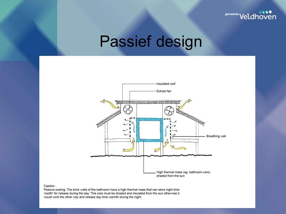 Passief design
