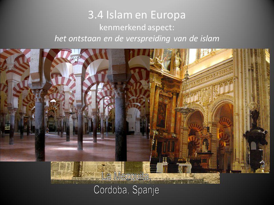 Ontstaan islam Op Arabisch schiereiland wonen verschillende stammen die polytheïstische religie hebben 0mstreeks 570 wordt Mohammed in Mekka, een belangrijke handelsstad geboren Mohammed trekt van jongs af aan mee met handelskaravanen en komt zo in contact met joden en christenen