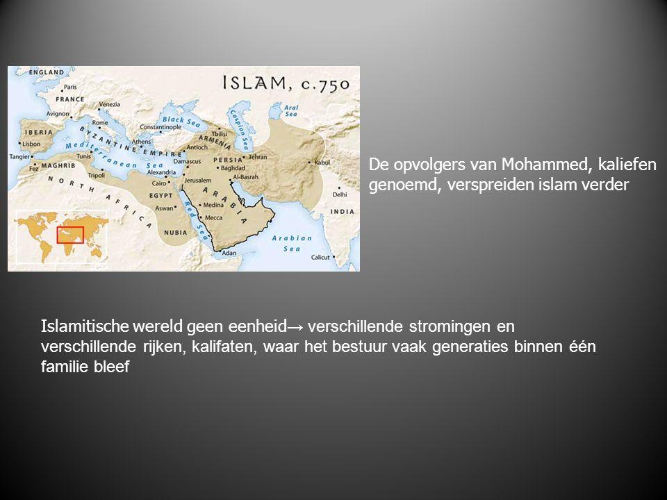 Soennieten en sjiieten; wie is de ware opvolger van Mohammed.
