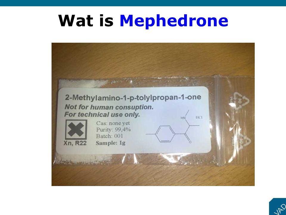 Wat is Mephedrone