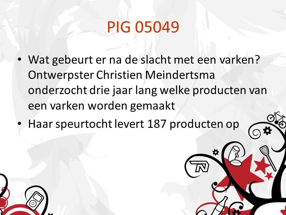 PIG 05049 Wat gebeurt er na de slacht met een varken.
