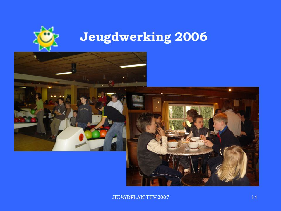 JEUGDPLAN TTV 200714 Jeugdwerking 2006