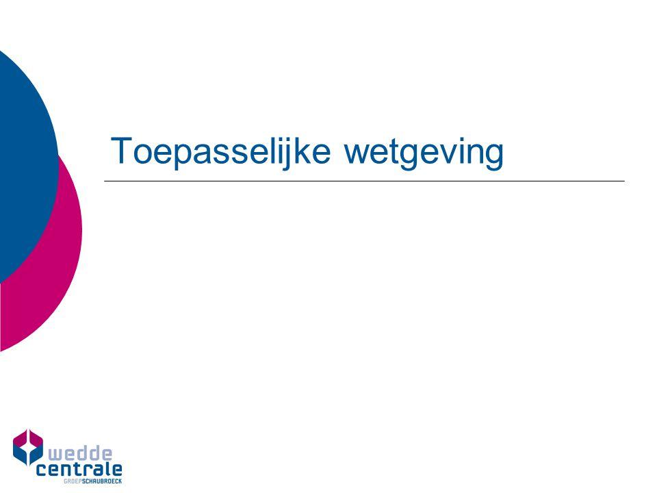 Toepasselijke wetgeving - Gemeente - o Gemeentedecreet (15/07/2005) – art.