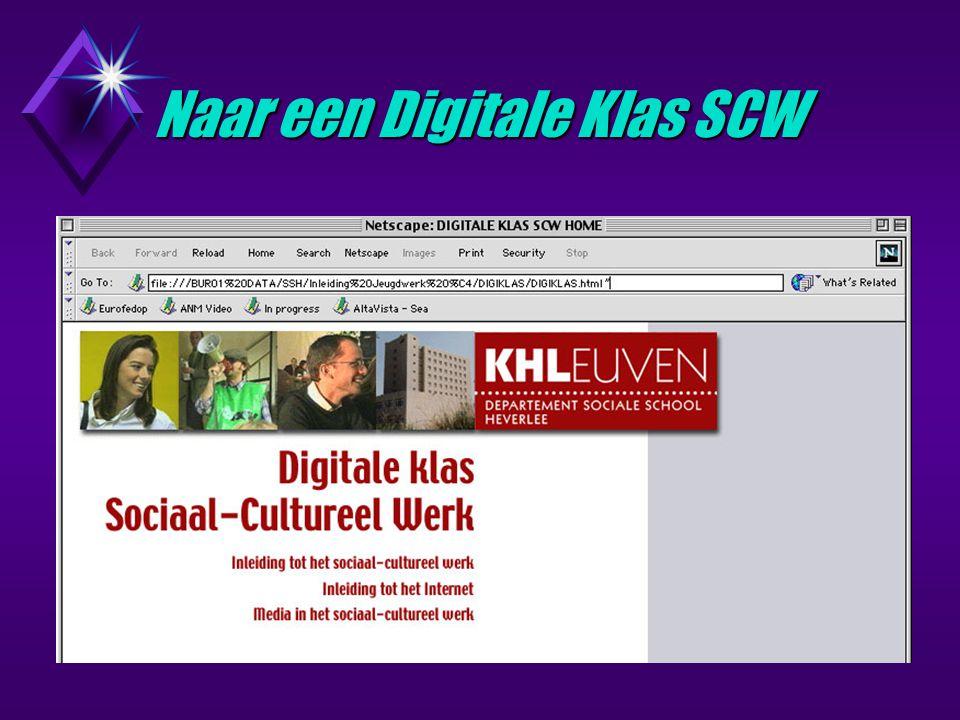 Naar een Digitale Klas SCW