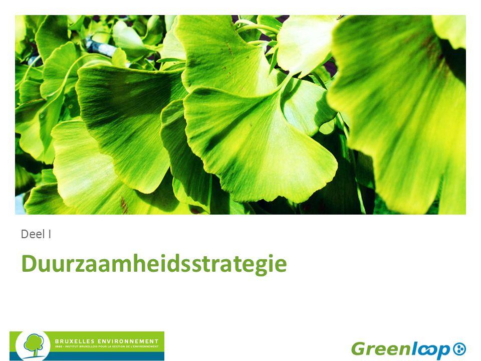 Duurzaamheidsstrategie Deel I