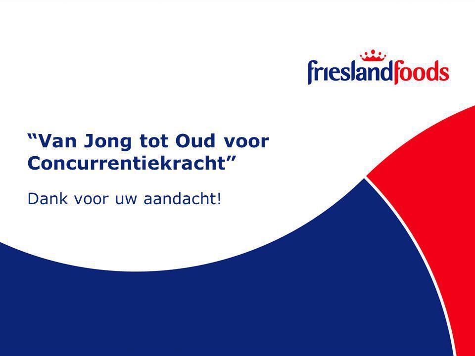 Van Jong tot Oud voor Concurrentiekracht Dank voor uw aandacht!
