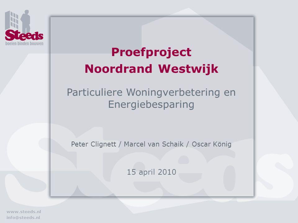 www.steeds.nl info@steeds.nl Gefeliciteerd!