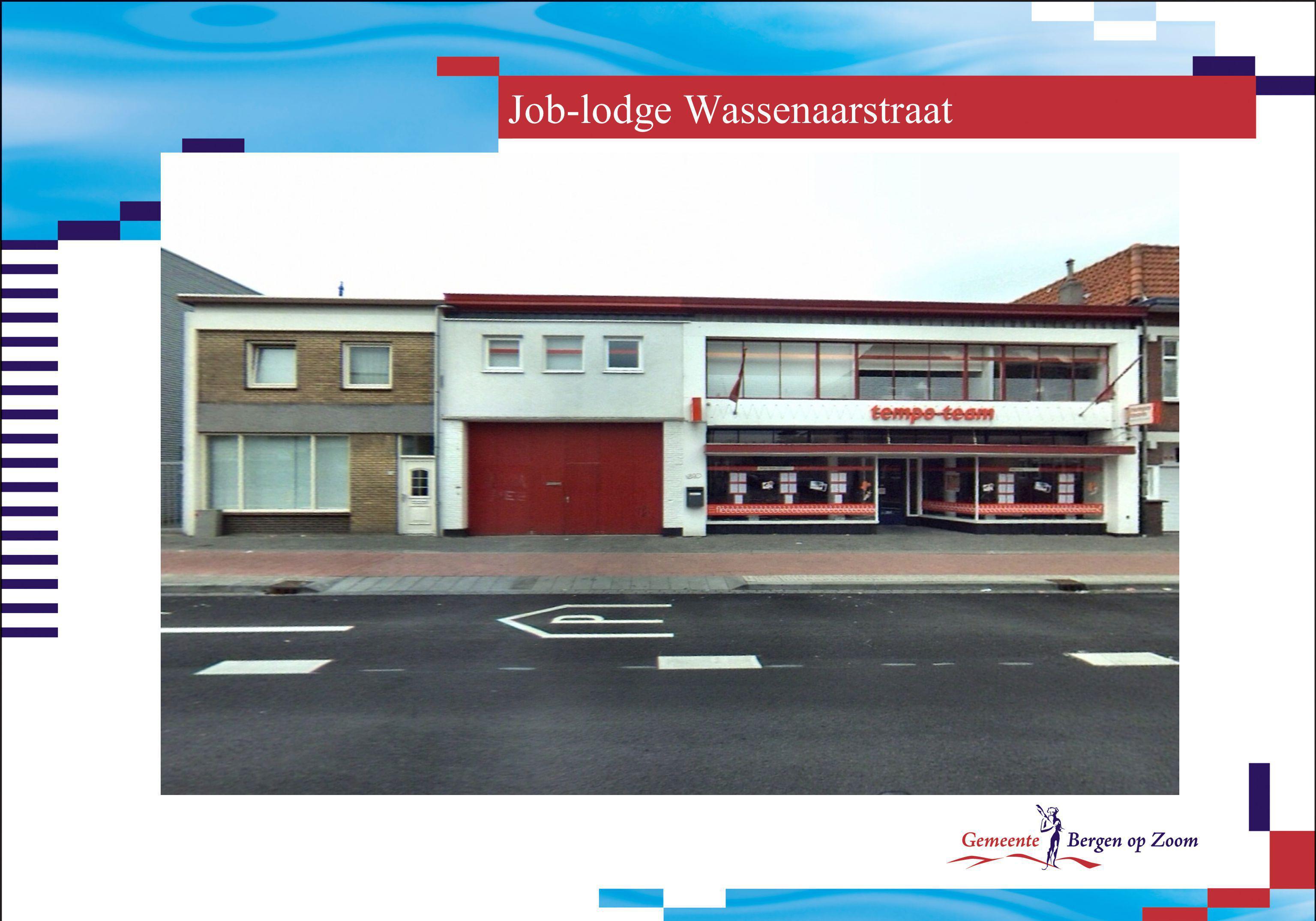 Job-lodge Wassenaarstraat