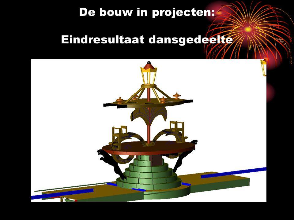 De bouw in projecten: Eindresultaat dansgedeelte