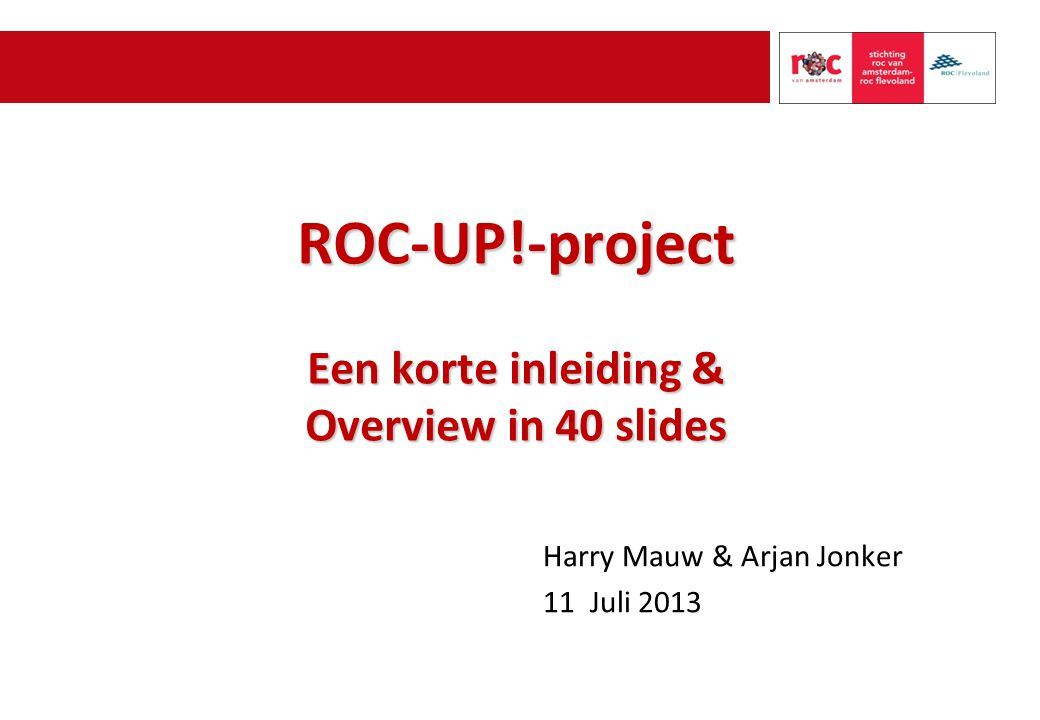 Overview EduArte in 40 slides 12