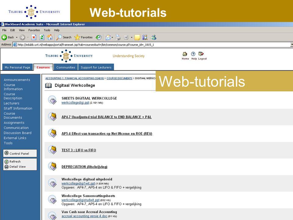 Web-tutorials