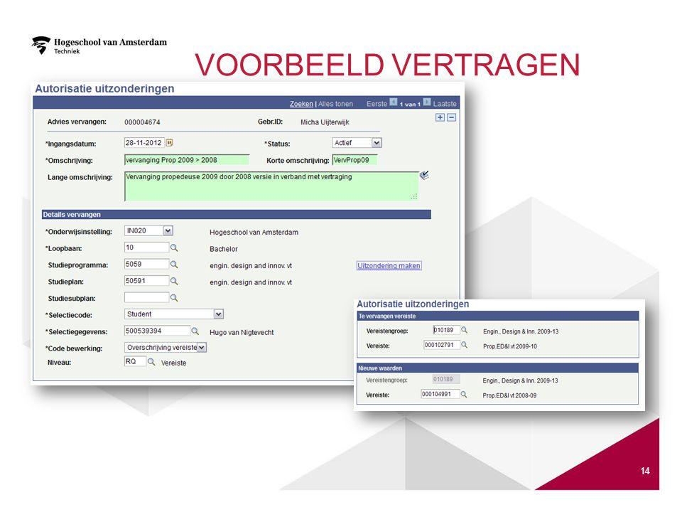 VOORBEELD VERTRAGEN 14