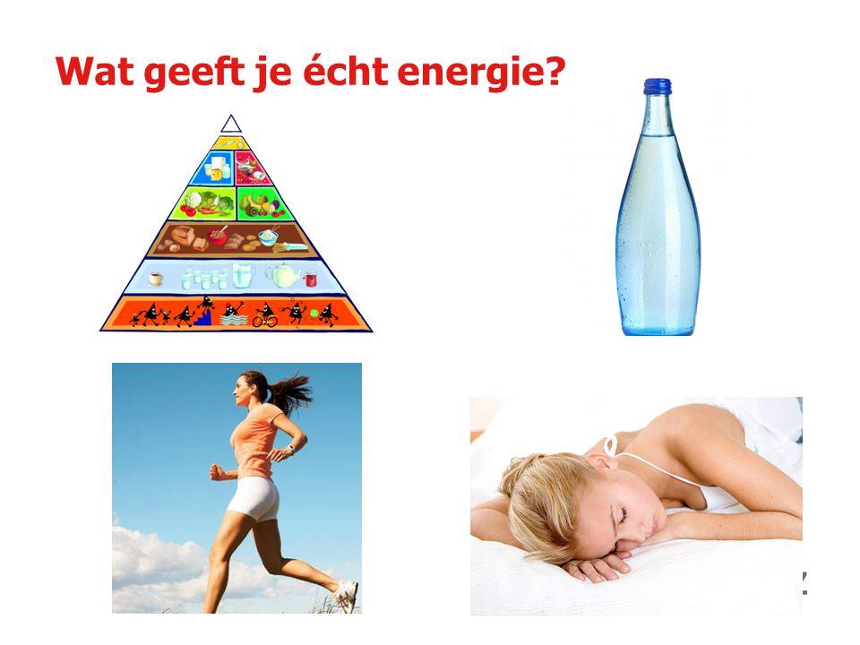 Wat geeft je écht energie?