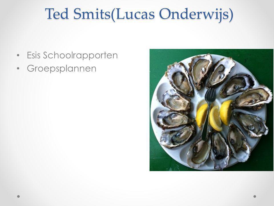 Ted Smits(Lucas Onderwijs) Esis Schoolrapporten Groepsplannen