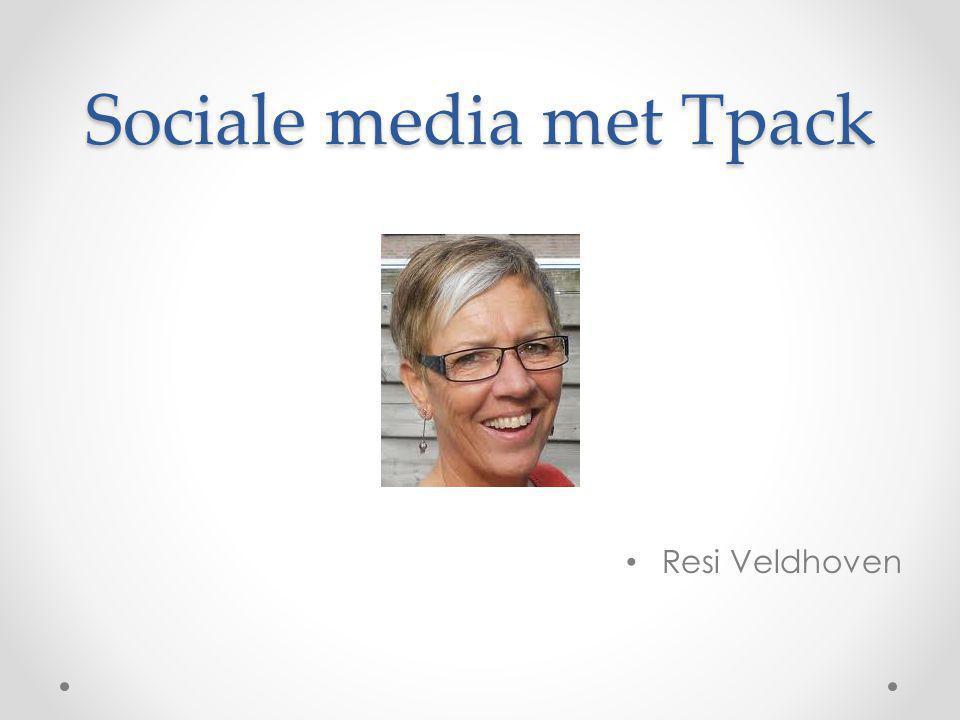 Sociale media met Tpack Resi Veldhoven