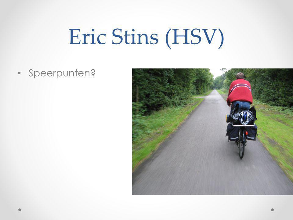 Eric Stins (HSV) Speerpunten?