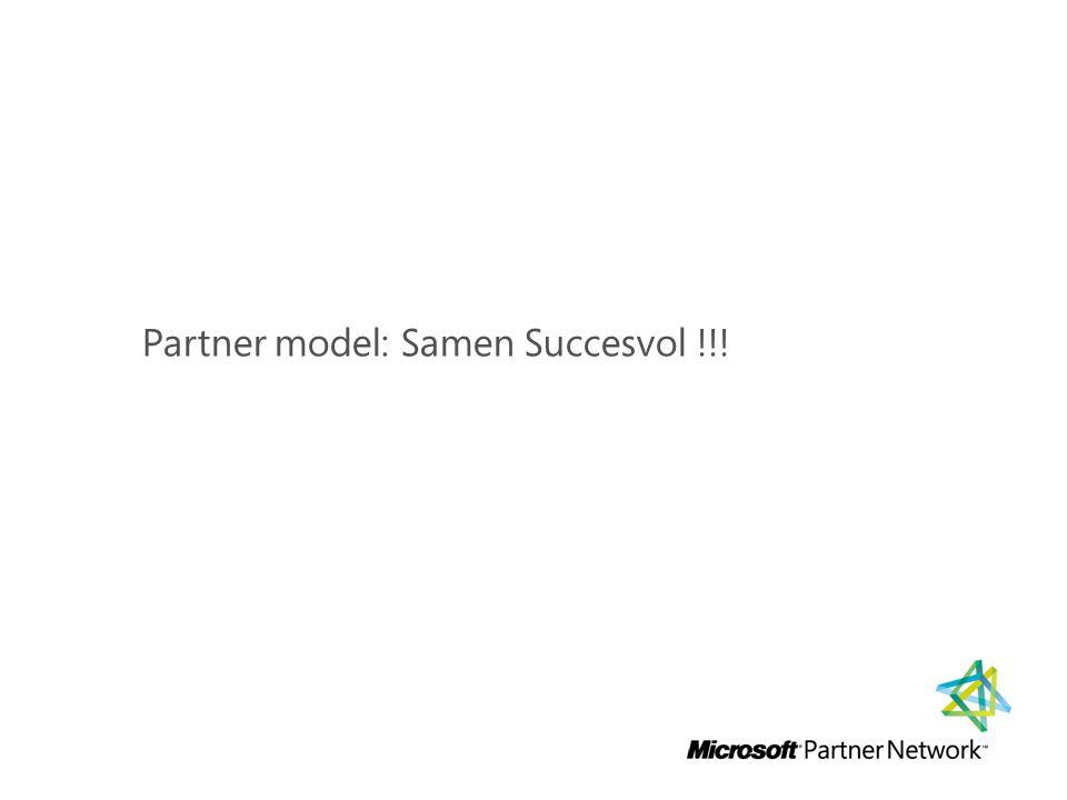 Partner model: Samen Succesvol !!!
