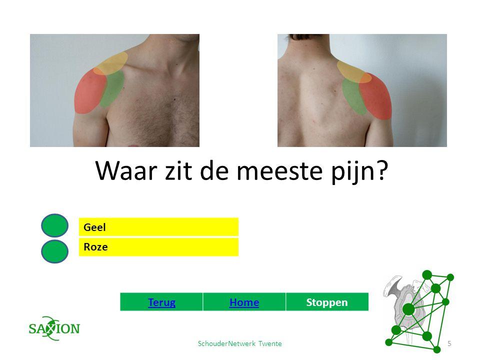 SchouderNetwerk Twente 6 Blessure van het acromioclaviculaire gewricht Waarschijnlijk heeft u uw acromioclaviculaire gewricht beschadigd.