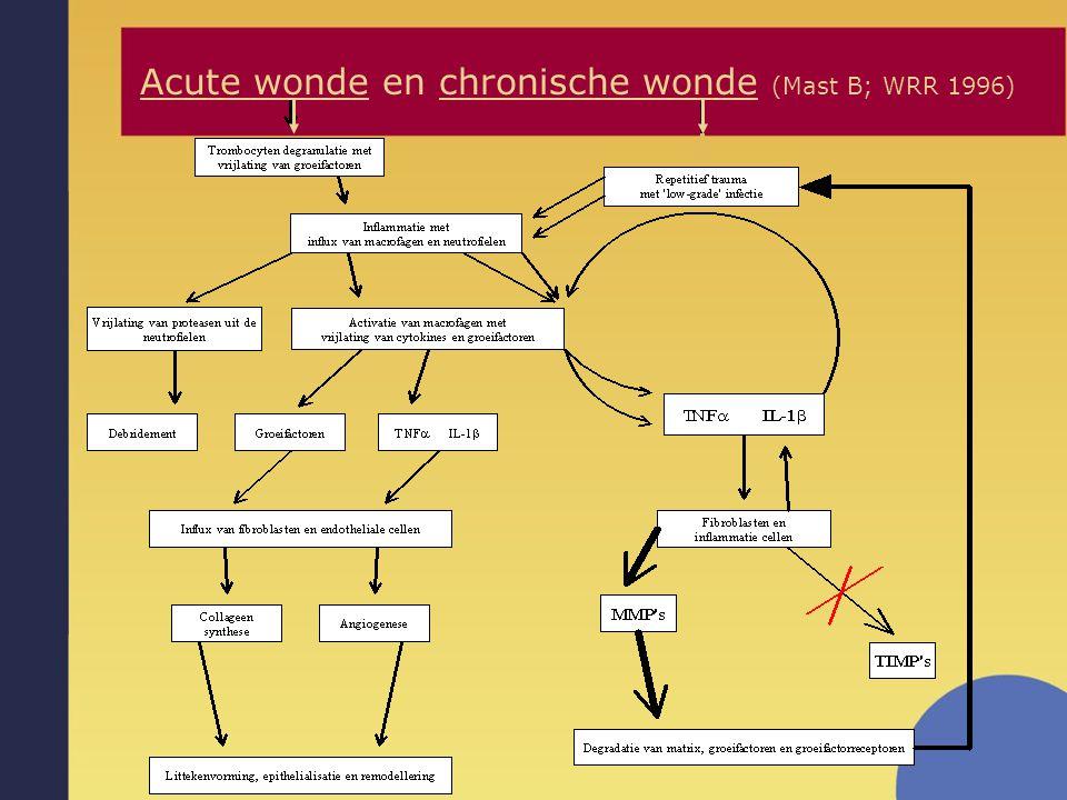 Acute wonde en chronische wonde (Mast B; WRR 1996)