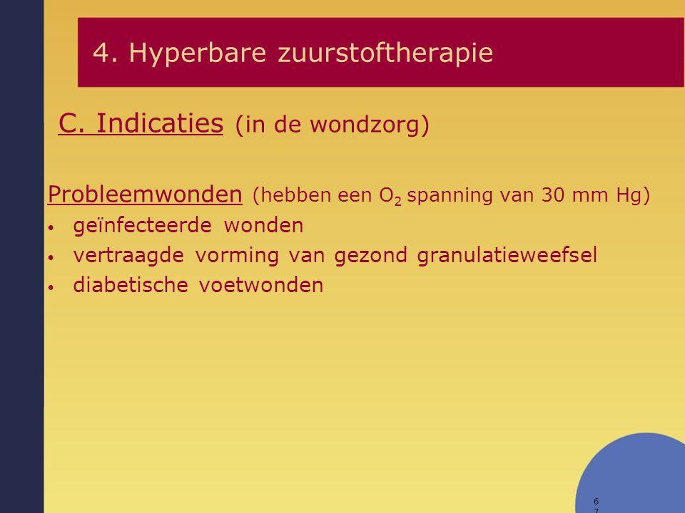 68 1.Spoedeisend gasgangreen, necrotiserende fasciitis, brandwonden met CO-intoxicatie, … 2.