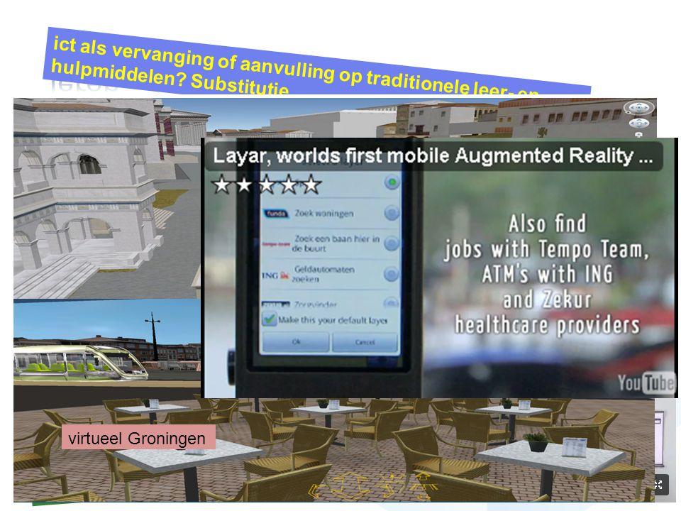 google earth... verbetert... werolessen mindmapping… verbetert … taalverwerving en woordspinnen een beamer… vervangt … wandplaten een interactief whit