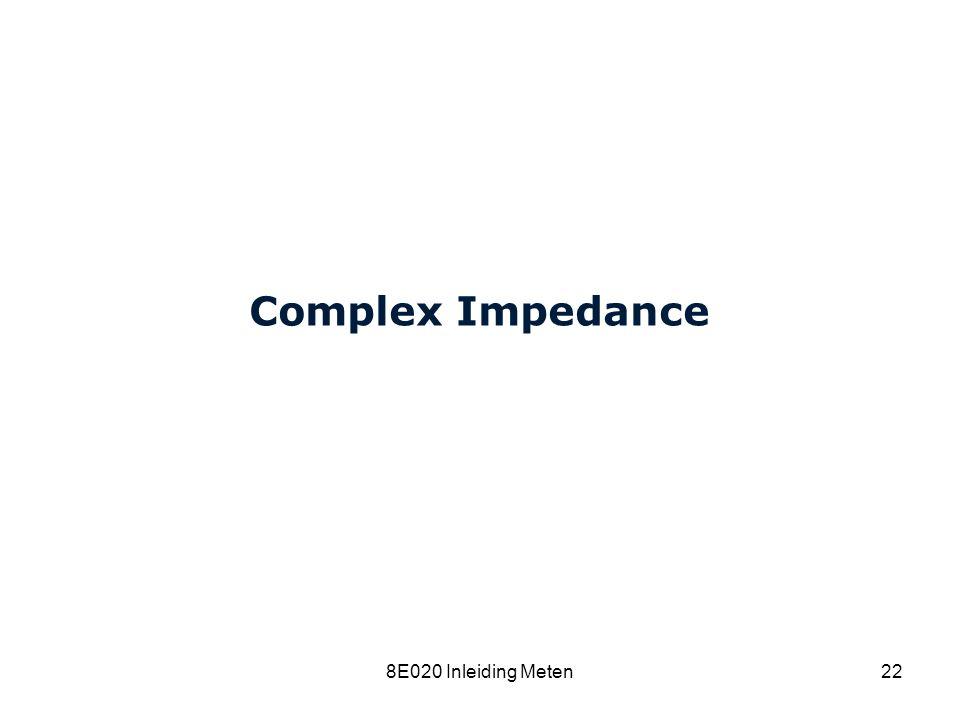 Cardiovascular Research Institute Maastricht (CARIM) 8E020 Inleiding Meten22 Complex Impedance