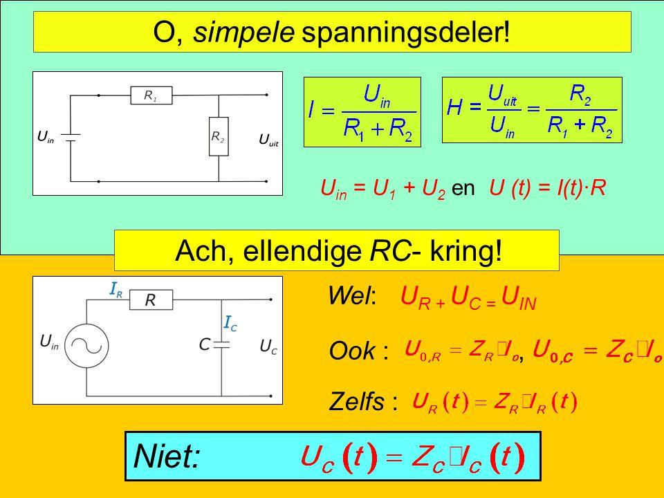 Complexe stromen NWD 2009 – Aad Goddijn 55 O, simpele spanningsdeler.