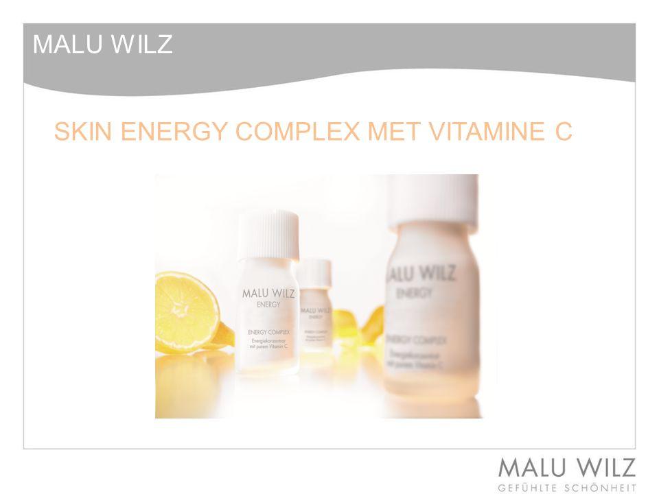 SKIN ENERGY VITAMINE C - Inleiding Waaraan herkennen we een huid met een tekort aan Vitamine C.