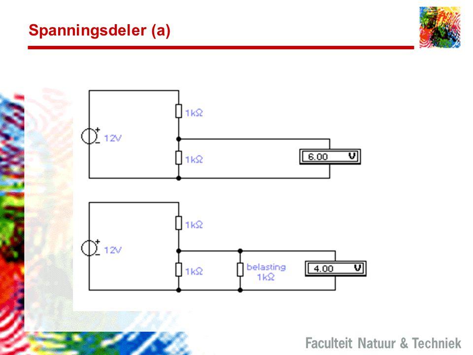 Spanningsdeler (a)