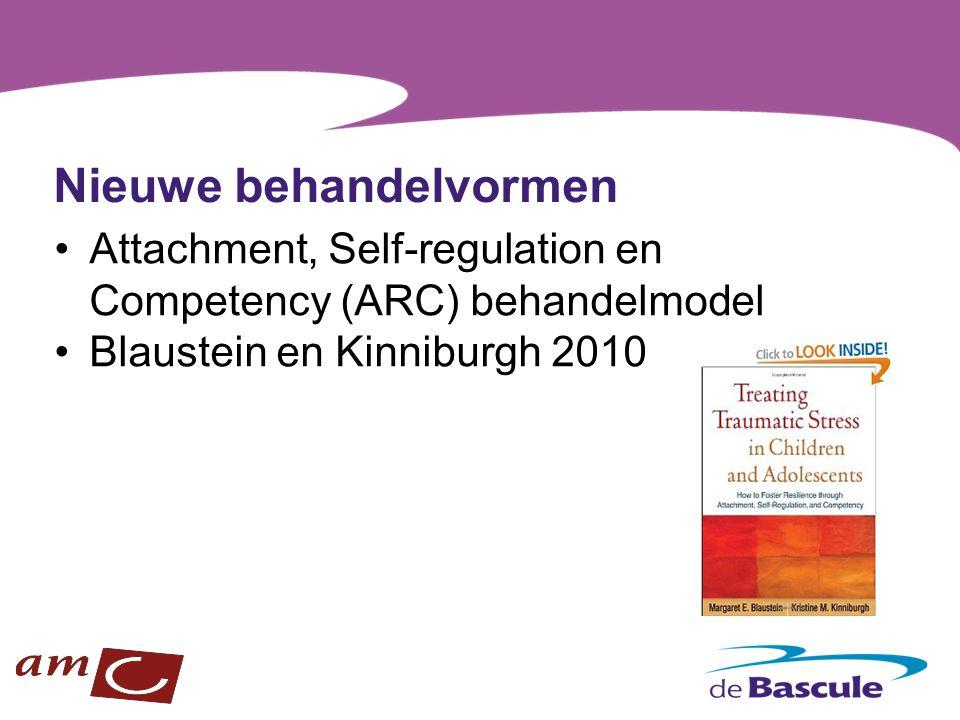 Nieuwe behandelvormen Attachment, Self-regulation en Competency (ARC) behandelmodel Blaustein en Kinniburgh 2010
