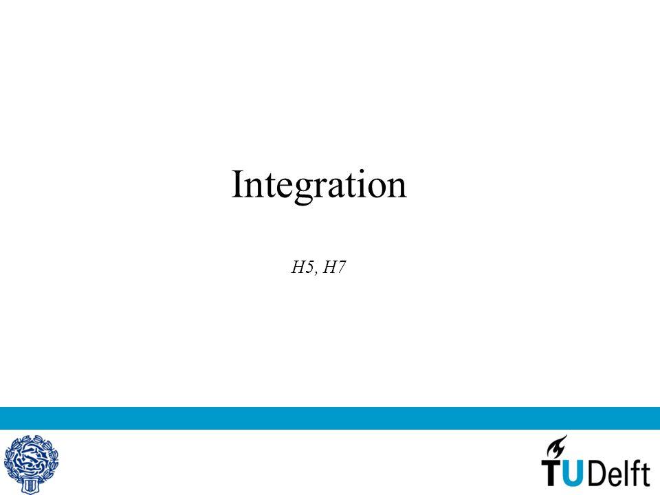 Integration H5, H7