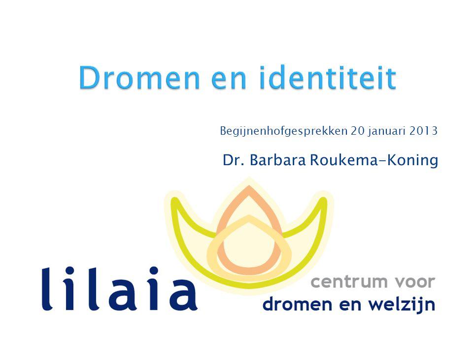 Begijnenhofgesprekken 20 januari 2013 Dr. Barbara Roukema-Koning