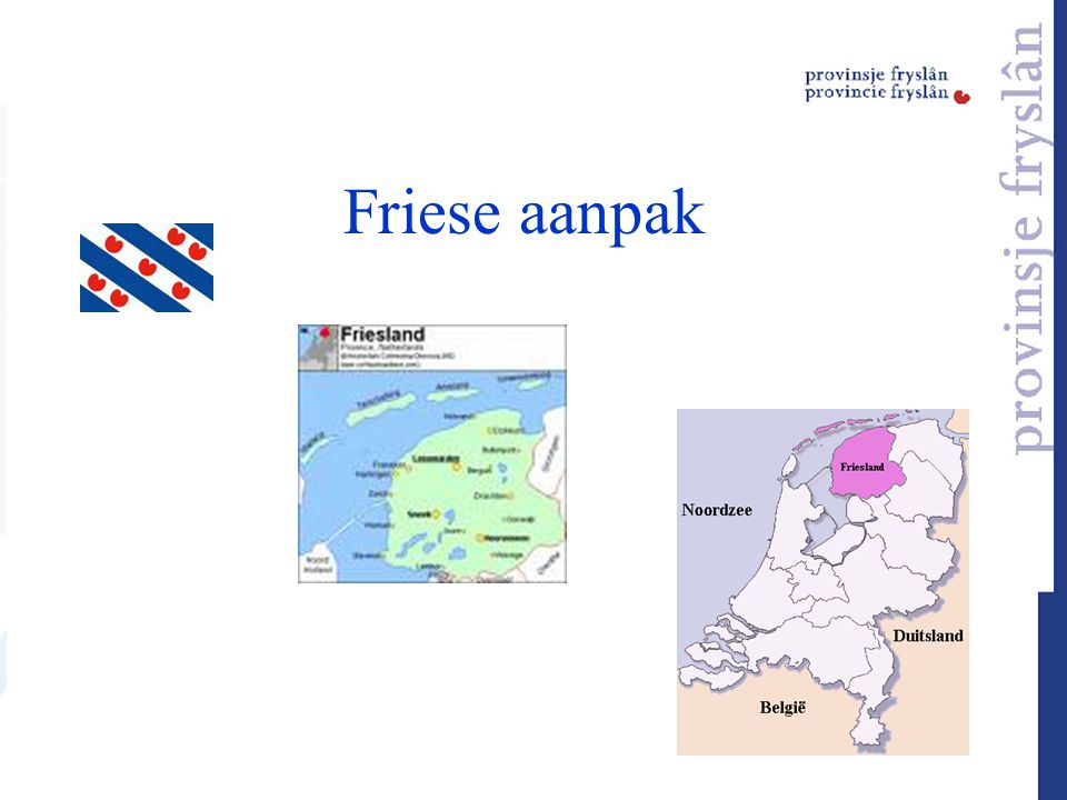 Friese aanpak