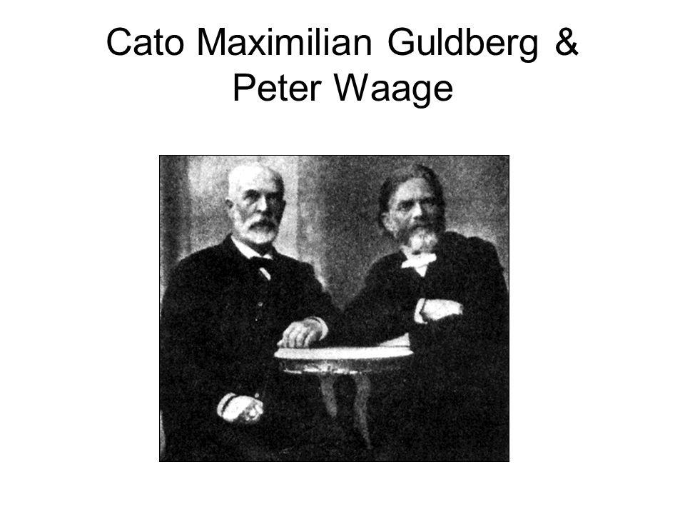 Cato Maximilian Guldberg & Peter Waage