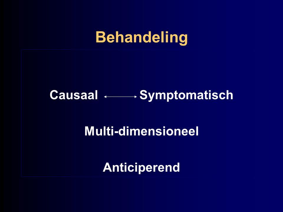 Behandeling Causaal Symptomatisch Multi-dimensioneel Anticiperend