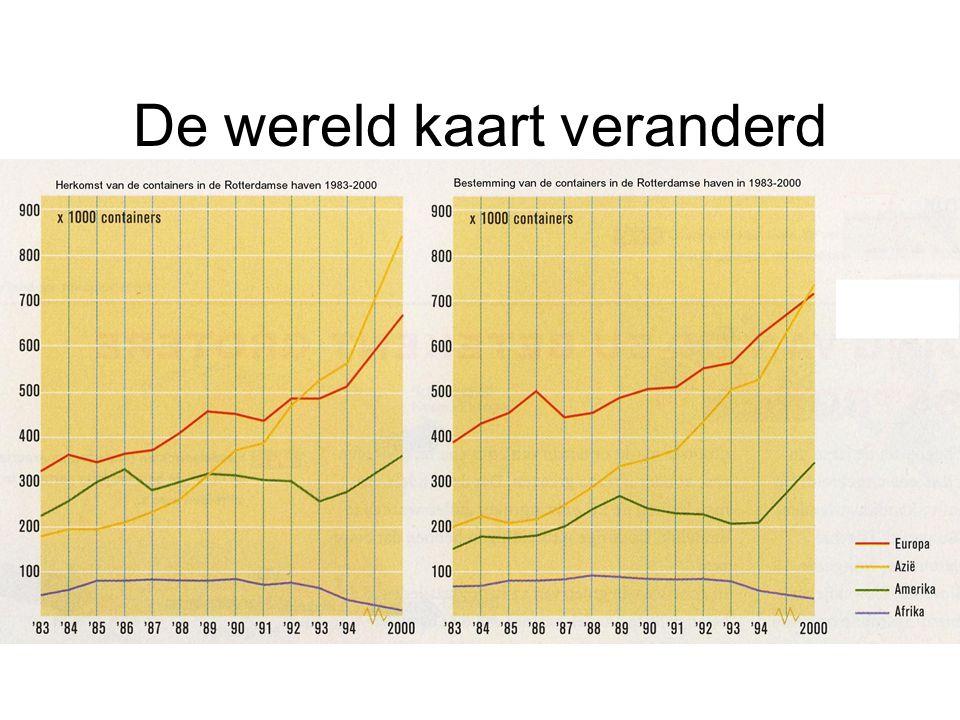 Rotterdam en Antwerpen op weg naar fase 5 RotterdamAntwerpen Industrieel-logistiek complex DoorvoerhavenIndustriehaven Maritieme deconcentratie Aan elkaar groeien van havenregio (Breda, Haseldonk)