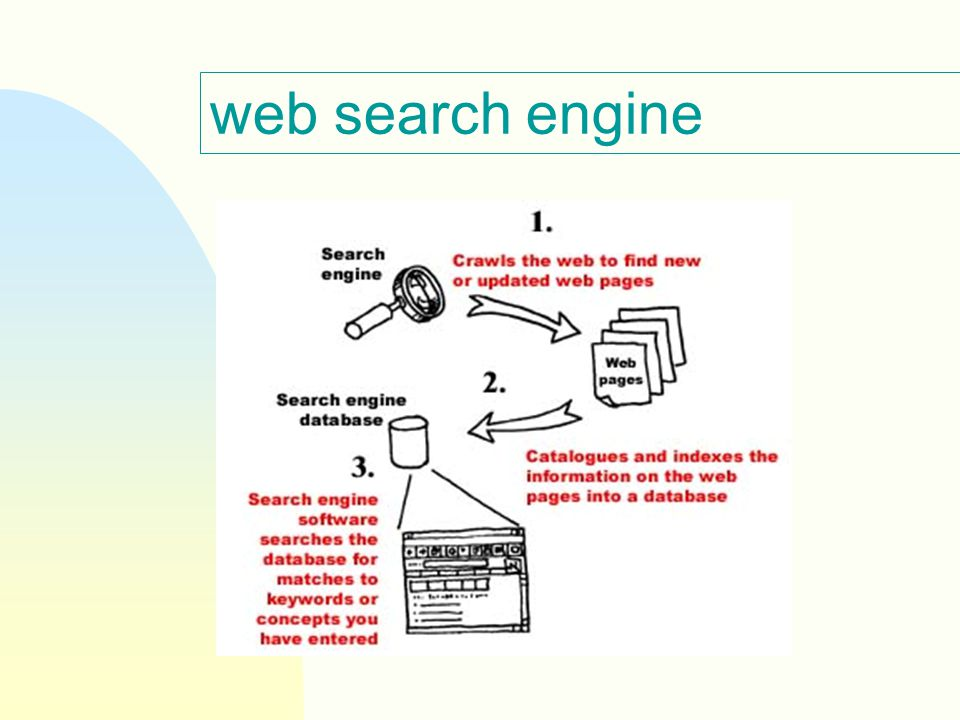 web search engine