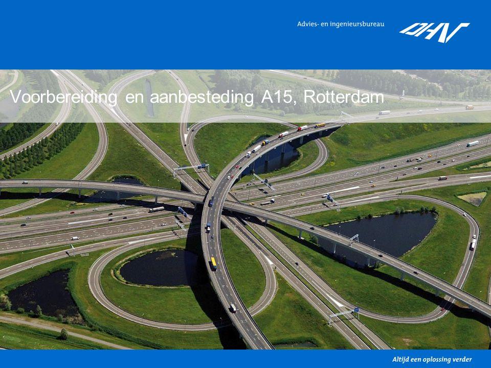 5 Voorbereiding en aanbesteding A15, Rotterdam