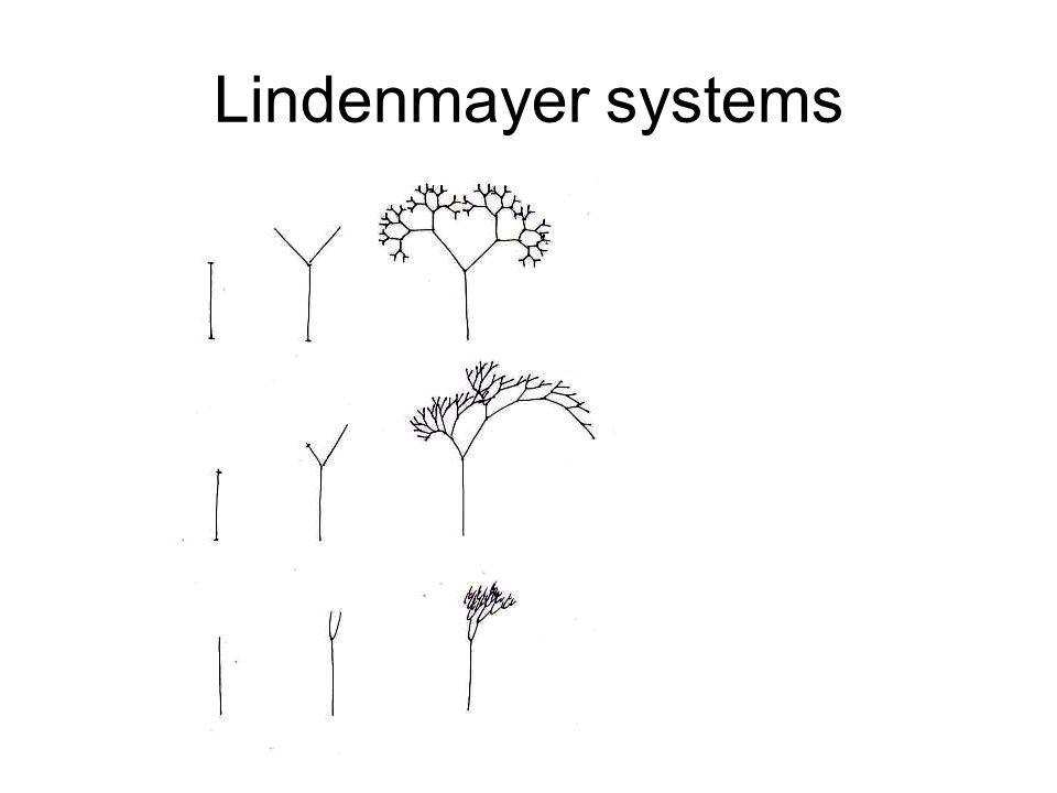 Lindenmayer systems