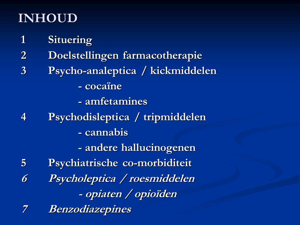 5.4 Schizofrenie (2/6) 5.4.2 Weerslag van MM op het beloop van schizofrenie: - slechtere prognose, - meer ziekenhuisopnames, - hogere medicatiedoseringen, - slechtere therapietrouw, - meer kwetsbaar voor sociale disfunctie, - meer zelfmoordpogingen.