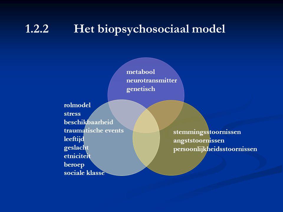 5.2 Etiopathogenese (2/2) Psychiatrische stoornis drugabusus Psychiatrische stoornisDrugabusus