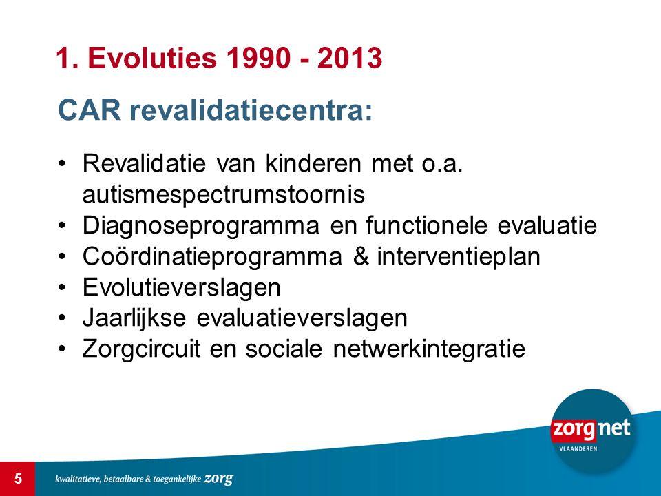 5 CAR revalidatiecentra: Revalidatie van kinderen met o.a.