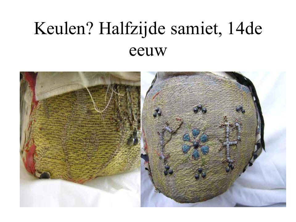 Keulen? Halfzijde samiet, 14de eeuw