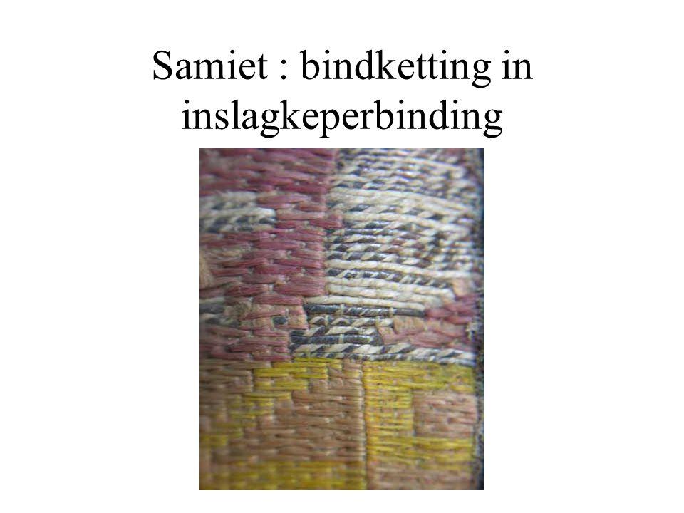 Twee kleuren in de inslag De keerzijde heeft de omgekeerde kleuren van de voorzijde