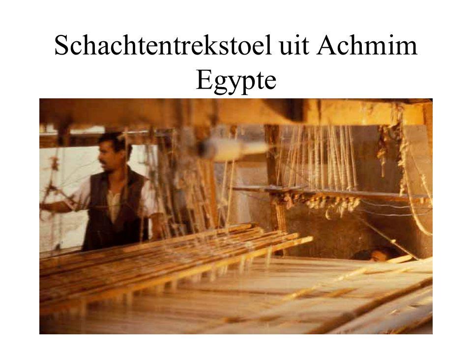 Schachtentrekstoel uit Achmim Egypte