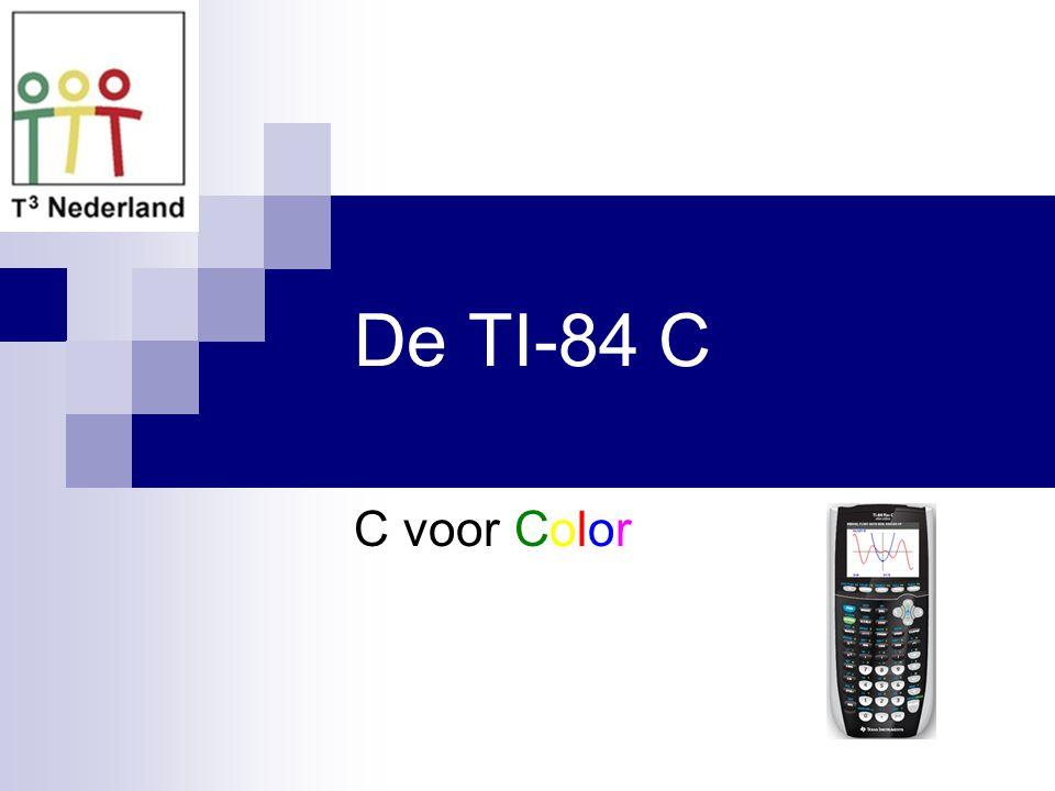 De TI-84 C C voor Color