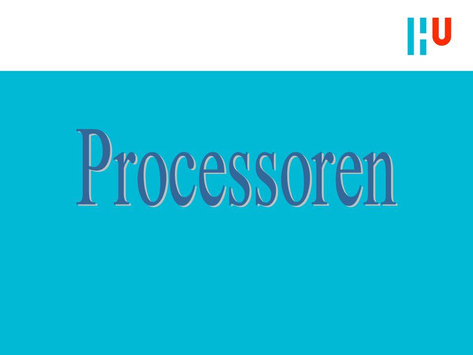 Kenmerken Processoren n Architectuur n Programmeermodel n Instructieset n Technologie (fabricage)