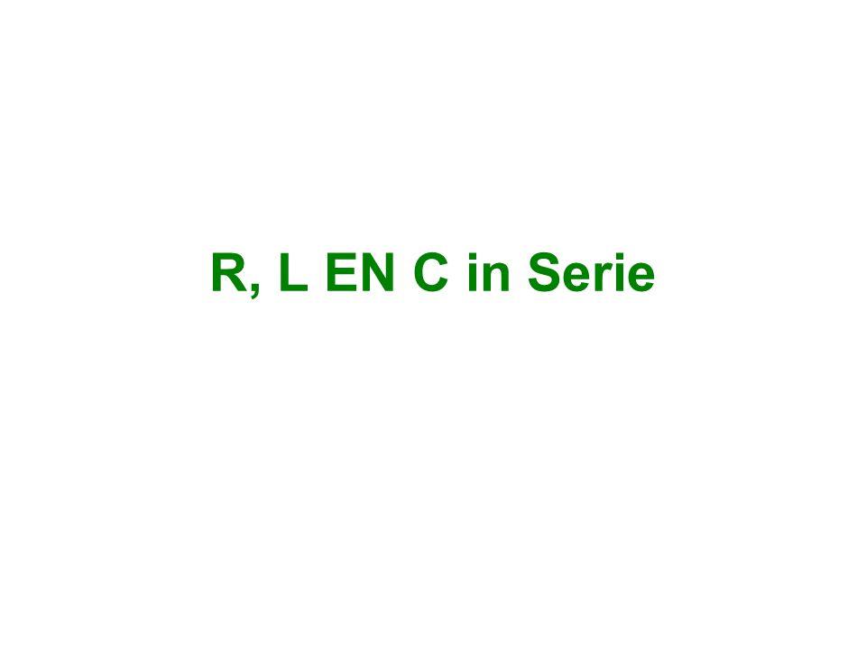 R, L EN C in Serie