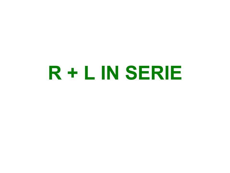 SPANNINGSDRIEHOEK Formule:U² = U R ² + U L ²
