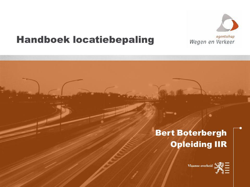 Bert Boterbergh Opleiding IIR Handboek locatiebepaling